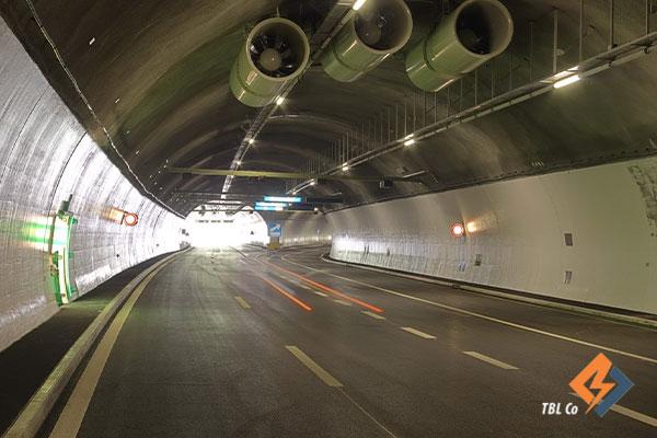 سیستم تهویه تونل