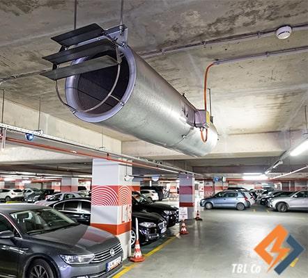 سیستم تهویه پارکینگ نوین
