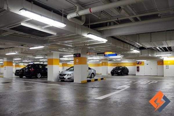 کاربرد طراحی تهویه پارکینگ