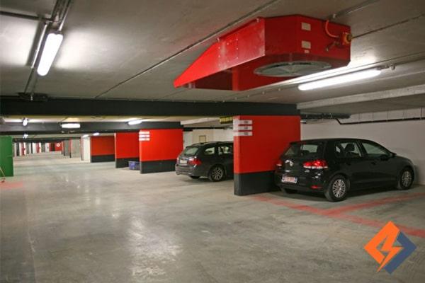سیستم طراحی تهویه پارکینگ چیست